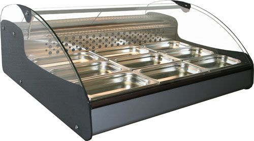Настольная охлаждаемая витрина Полюс ВХС-1,0 Арго XL Техно