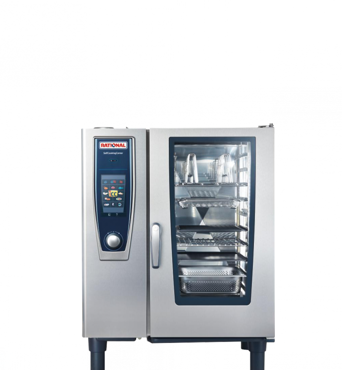 ПАРОКОНВЕКТОМАТ RATIONAL SELFCOOKINGCENTER SCC61